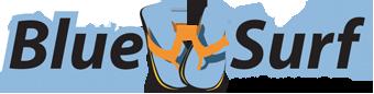 Destin Blue Surf Logo